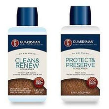 Load image into Gallery viewer, Guardsman Leather Care Bundle: Leather Cleaner and Leather Protector