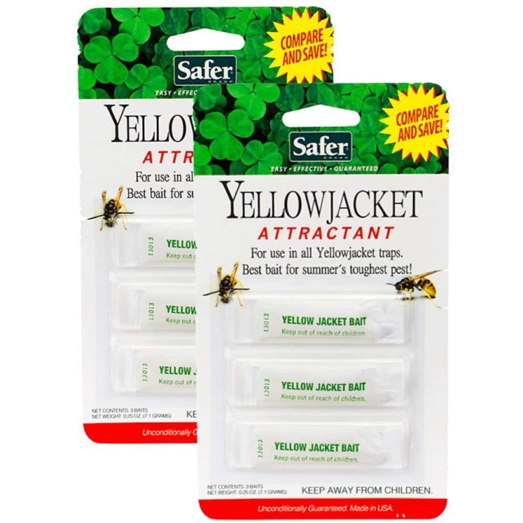 Safer 02006 Deluxe Yellow Jacket (2 Pack)