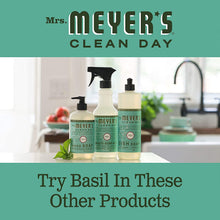 Load image into Gallery viewer, Mrs. Meyer's Clean Day Multi-Surface Cleaner Concentrate, Use to Clean Floors, Tile, Counters,Basil Scent, 32 oz