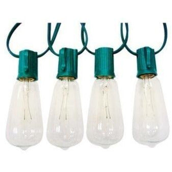 Celebrations Edison Style Replacement Bulbs 7 W Clear,10 pack