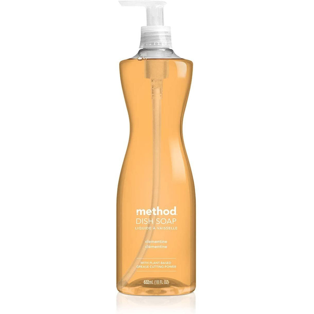 Method Dish Soap Pump - 18 oz - Clementine