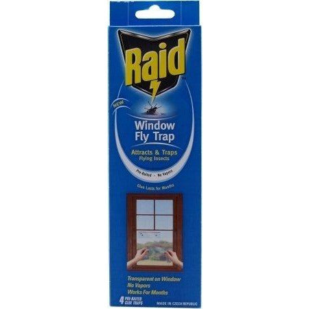 Raid Window Fly Trap, 4ct (Pack of 4)