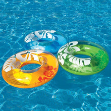 Load image into Gallery viewer, INTEX Clear Color Tube Pool Float
