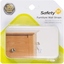 Load image into Gallery viewer, Safety 1st Furniture Wall Straps 2 Count