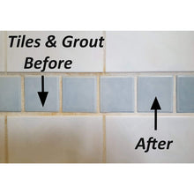 Load image into Gallery viewer, Bring It On Water Spot Remover and Grout Cleaner Gallon. The Best Tile Floor Cleaner with Oxygen Bleach for Cleaning Stained Grout Lines.