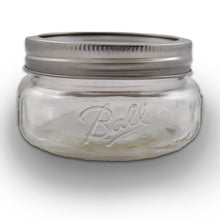 Load image into Gallery viewer, (2 Packs) Ball Mason Wide Mouth Half Pint Jars - 8oz - 4 Jars Per Box - Total 8 Jars