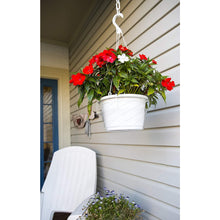 "Load image into Gallery viewer, Curtis Wagner 10"" Clear Hanging Basket Drip Pan Saucer (10-Pack)"