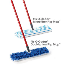 Load image into Gallery viewer, O-Cedar Dual-Action Microfiber Flip Mop Refill (Pack of 4)