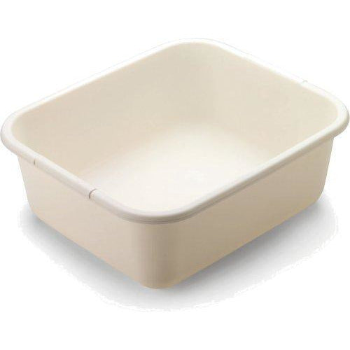 Rubbermaid 11.4 QT Dish Pan, Bisque (FG2951ARBISQU)