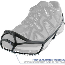 Load image into Gallery viewer, Yaktrax Walker Traction Cleats for Snow and Ice,Black,Large