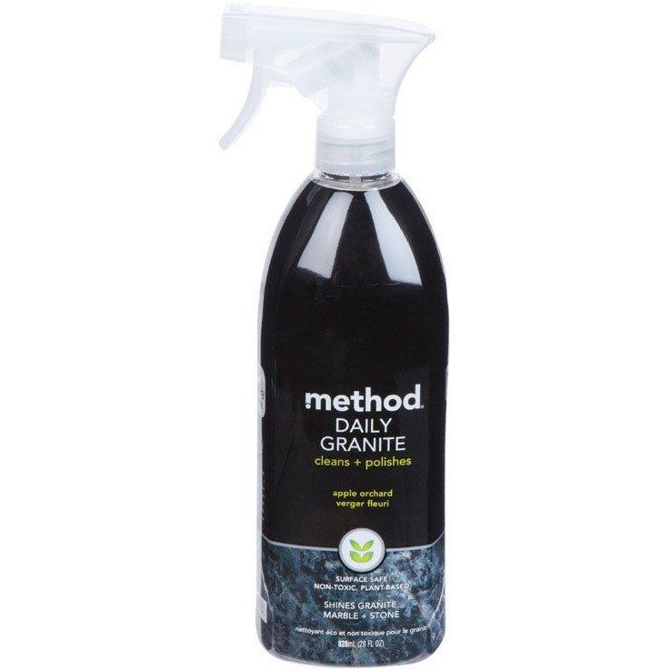 Method Daily Granite & Marble Cleaner Spray, Apple Orchard, 28 oz