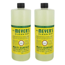 Load image into Gallery viewer, Mrs. Meyer's Clean Day Multi-Surface Concentrate - 32 oz - Honeysuckle - 2 Pack