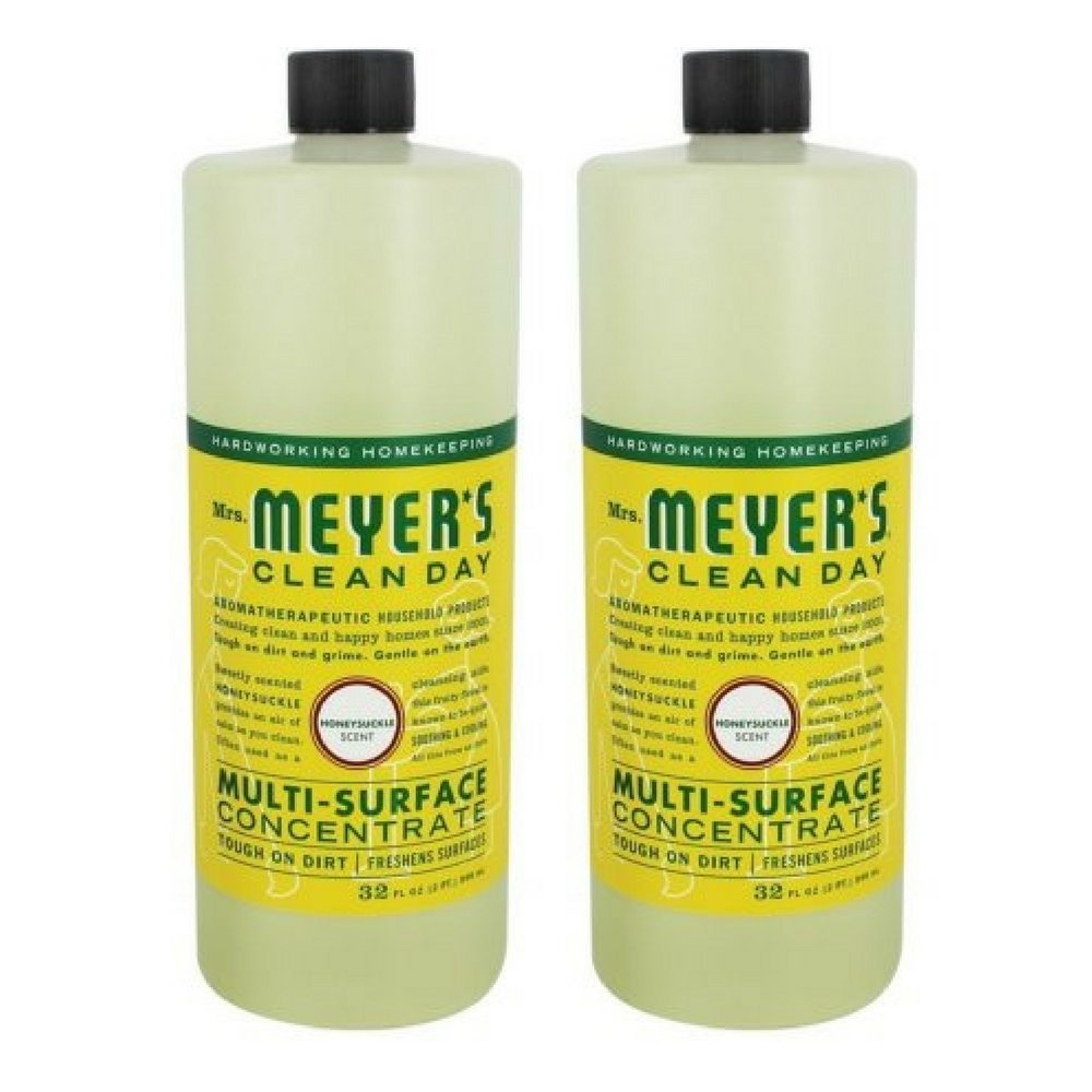 Mrs. Meyer's Clean Day Multi-Surface Concentrate - 32 oz - Honeysuckle - 2 Pack