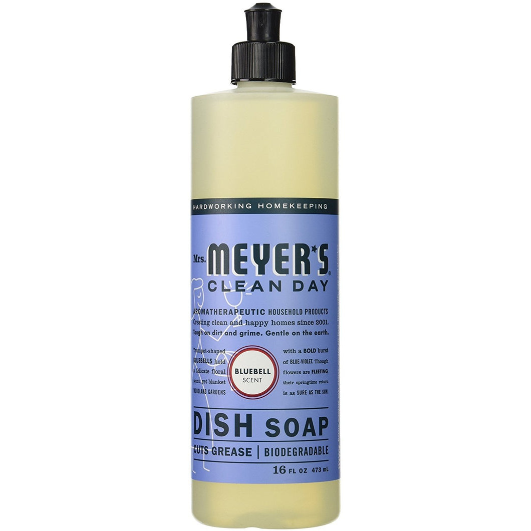 Mrs. Meyer's Clean Day Liquid Dish Soap - Bluebell - 3 pk, 16 oz