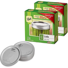 Load image into Gallery viewer, Ball Wide Mouth Mason Jar Lids 12-Count per Pack (2-Packs Total)