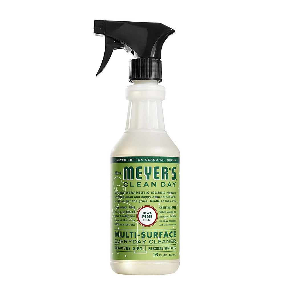 Mrs. Meyer's Multi-Surface Everyday Cleaner, 16 Ounce (Iowa Pine, Pack of 3)