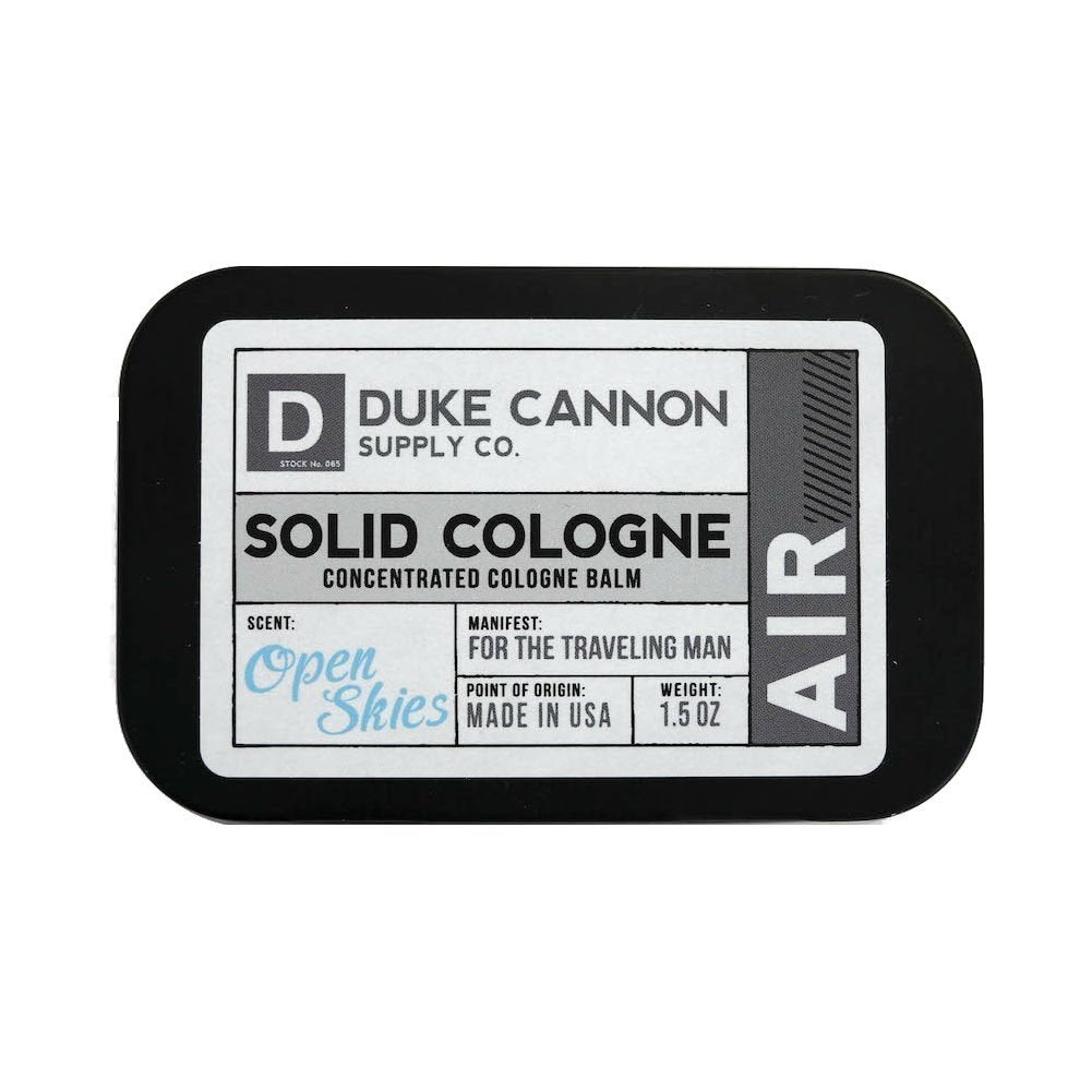 Duke Cannon Men's Solid Cologne, 1.5oz. - Air