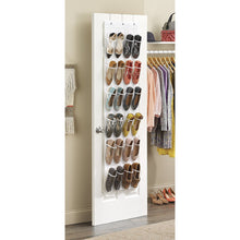 Load image into Gallery viewer, Whitmor Over - The-Door Shoe Organizer - Saves floor space - 24 pockets (2 Pack)