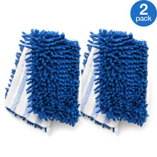 Load image into Gallery viewer, O-Cedar Dual Action Microfiber Flip Mop Refill, Dust/Microfiber Flat Mop Refill, 1 CT (Pack of 2) …