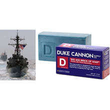 Load image into Gallery viewer, Duke Cannon Big Ass Brick of Soap for Men - Naval Supremacy, 10oz.