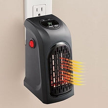 Load image into Gallery viewer, Ontel Handy Heater | Plug-in Personal Heater | Compact Design | Quick and Easy Heat | Digital Display | Great for Travel | On/Off with Timer