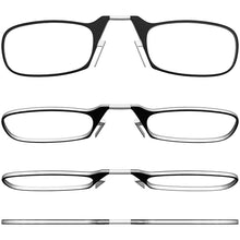 Load image into Gallery viewer, ThinOptics Reading Glasses + Keychain Case Rectangular