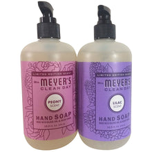 Load image into Gallery viewer, Mrs Meyer's Clean Day Limited Edition Hand Soap Bundle (Lilac and Peony)