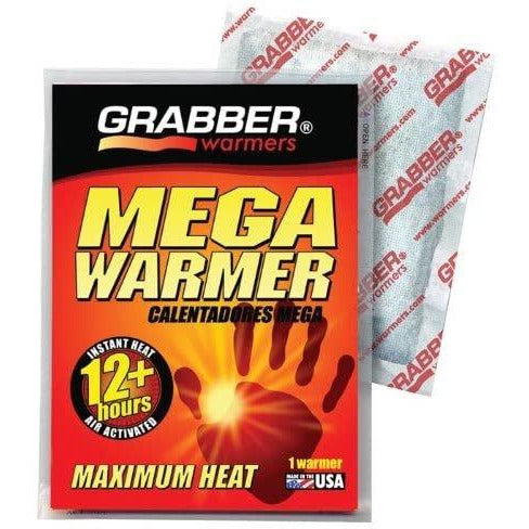 Grabber Mega Warmers, 12+ Hours Maximum Heat- 1 Count