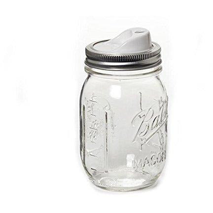 Ball Canning Regular Mouth Half Pint Canning Jar 8 oz. 12-Count - Set of 2 (Total 24 Jars)