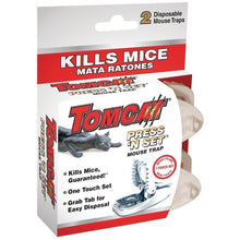 Load image into Gallery viewer, Tomcat Press 'N Set Mouse Trap, 2-Pack(2Pack 4 Traps total)