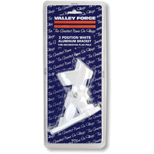 Load image into Gallery viewer, Valley Forge, American Flag, Aluminum Bracket White Powder Coated, 2-Position Pole Holder