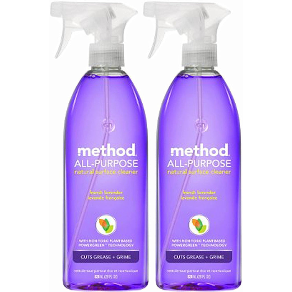 Method All Purpose Natural Surface Cleaning Spray - 28 oz - French Lavender - 2 pk