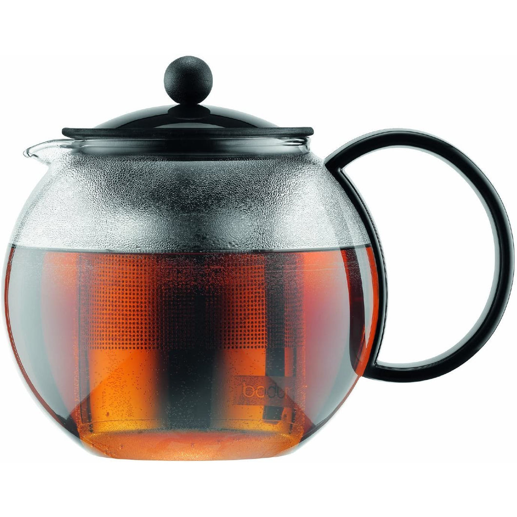 Bodum Assam Glass Teapot with Stainless-Steel Filter