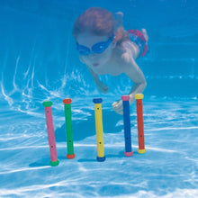 Load image into Gallery viewer, Intex 2 x 55504 Underwater Swi mming/ Diving Swi mming Pool Toy Play Sticks...