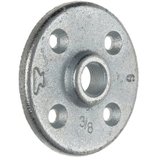 Load image into Gallery viewer, Anvil Malleable Iron Pipe Fitting, Class 150, Floor Flange, NPT Female, Galvanized Finish