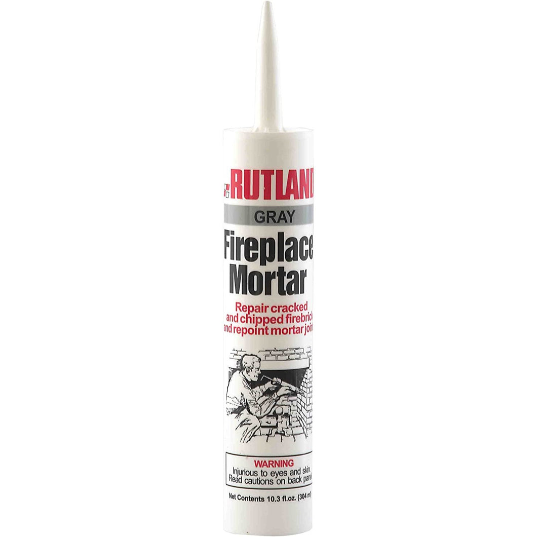 Rutland Fireplace Mortar Cartridge, 10.3-Ounce, Gray - 63G