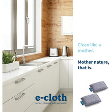 Load image into Gallery viewer, E-Cloth 2 Non Scratch Scrubbing Pads Microfiber Cleaning Cloths