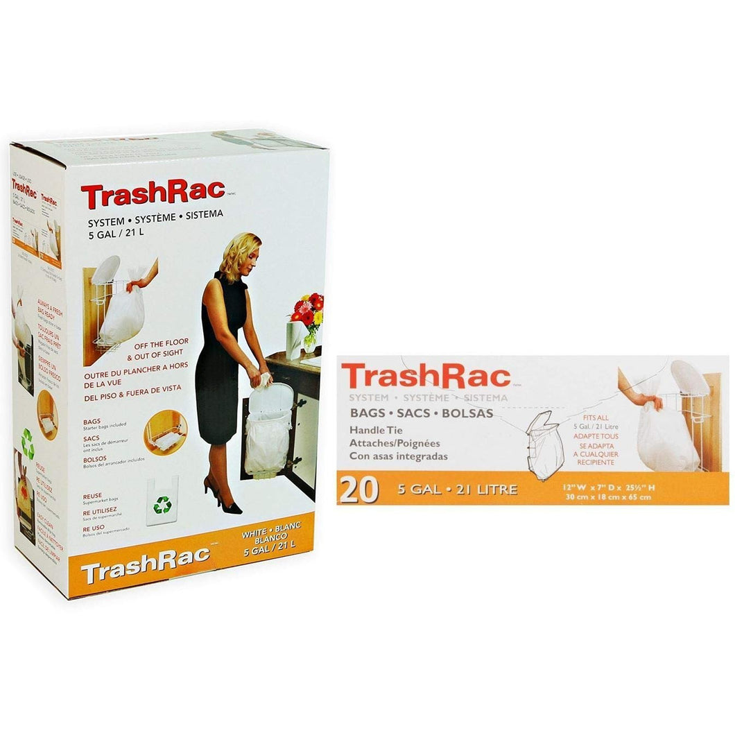 TRASHRAC 5 Gallon Trash Rack Frame System (131/4