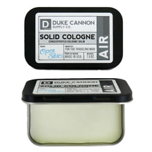 Load image into Gallery viewer, Duke Cannon Men's Solid Cologne, 1.5oz. - Air