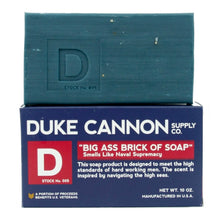 Load image into Gallery viewer, Duke Cannon Big Brick of Soap for Men, 2 Pack - Naval Supremacy and Accomplishment