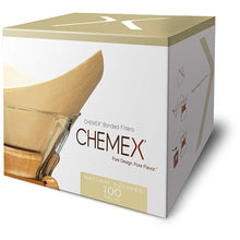 Load image into Gallery viewer, Chemex Natural Coffee Filters, Square, 200ct - Exclusive Packaging
