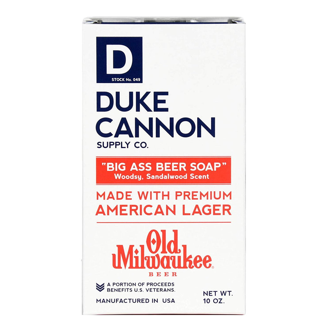 Duke Cannon Big Ass Beer Soap, 10 Ounce