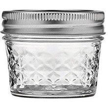Load image into Gallery viewer, Ball 4-Ounce Quilted Crystal Jelly Jars with Lids and Bands, Set of 12-2 Pack (Total 24 Jars)
