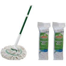 Load image into Gallery viewer, Libman Tornado Mop with 2 Extra Mop Refills
