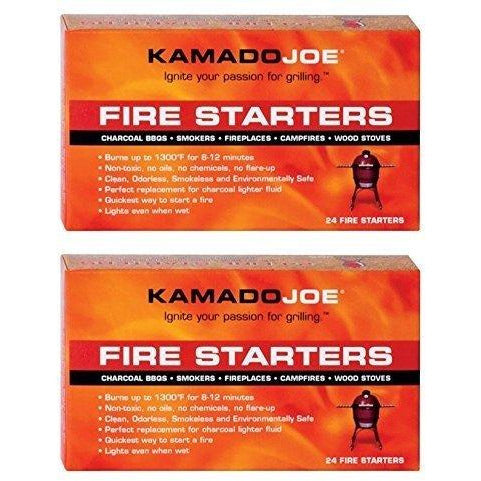 Kamado Joe KJFS Fire Starters - 24 Count - 2 Pack
