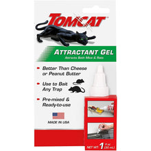 Load image into Gallery viewer, Tomcat Mouse Bait Attractant Gel Pre-Mixed Ready For Use with Mouse or Rat Traps 0362210
