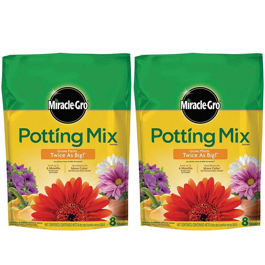 Miracle-Gro Potting Mix 8 QT MGRO Potting Mix