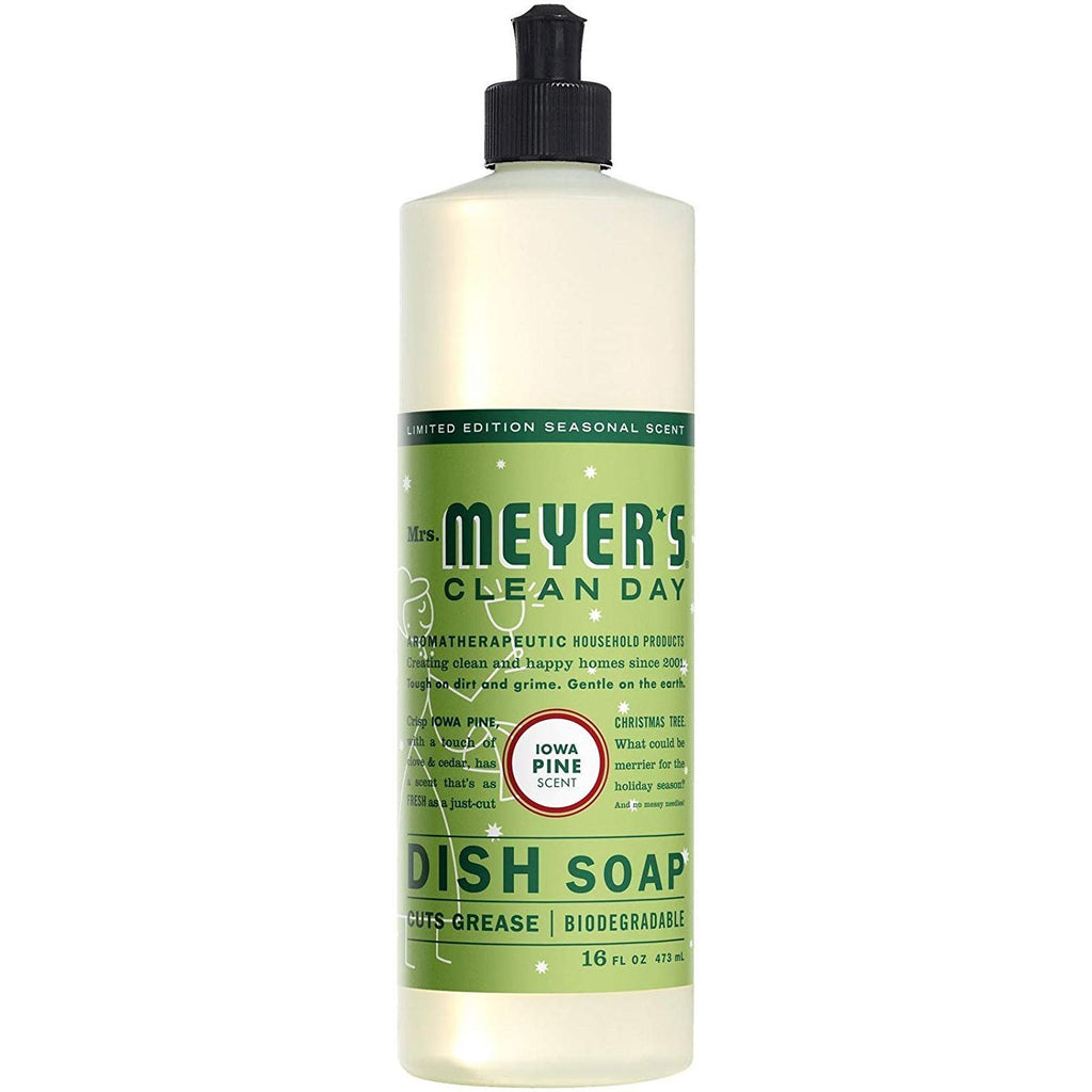 Mrs. Meyer´s Clean Day Dish Soap, Iowa Pine, 16 oz (Pack - 1)