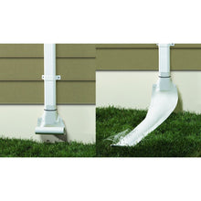 Load image into Gallery viewer, Raindrain 46-Inch Automatic Recoiling Downspout - Green URD46GR