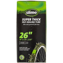 Load image into Gallery viewer, Slime Super Thick Smart Bicycle Tube - Schrader